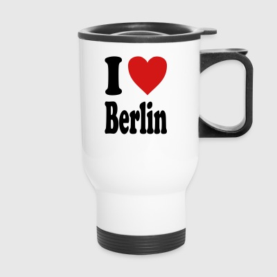 I love Berlin (variable colors!) - Travel Mug