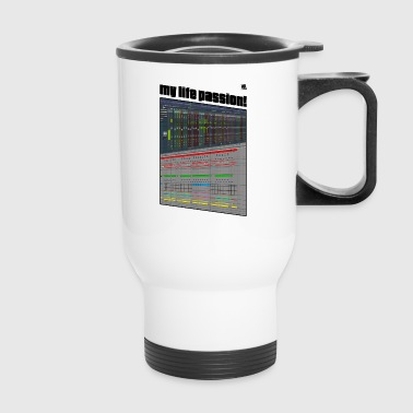 T-shit: Music producer's life passion! - Travel Mug