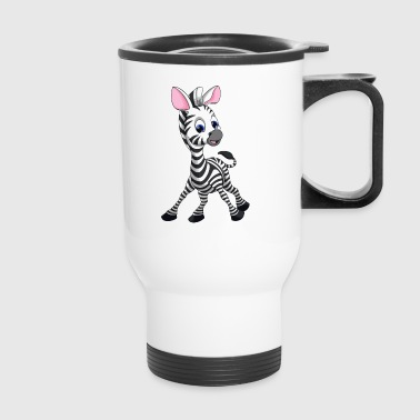 Cute Zebra - Travel Mug