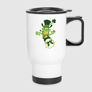 Irish Leprechaun Clapping Feet - Travel Mug