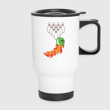 bowling - Travel Mug
