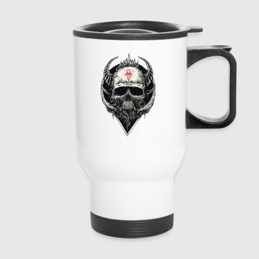 Metal SKull - Travel Mug