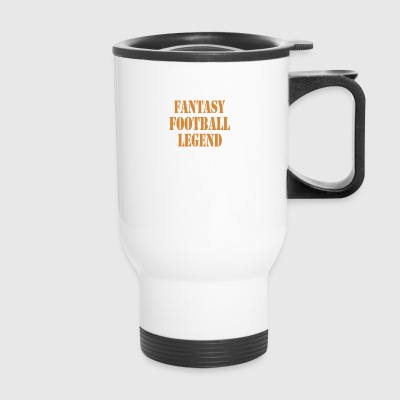fantasy football legend - Travel Mug