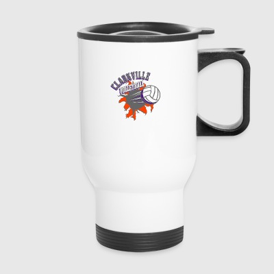CLARKVILLE VOLLEYBALL - Travel Mug