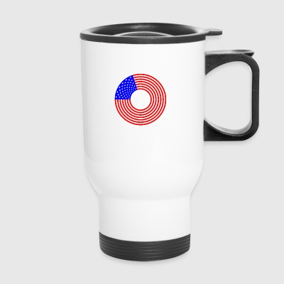 Stars And Stripes - Travel Mug