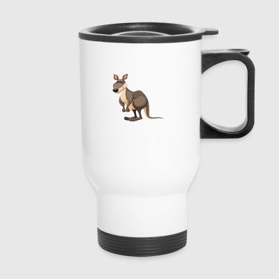 animal-kangaroo-wildlife - Travel Mug