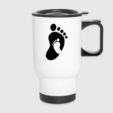 Baby Feet in Feet - Travel Mug