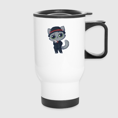 Casino Cat - Travel Mug