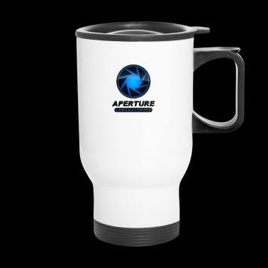 aperture laboratories - Travel Mug