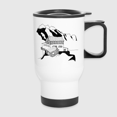 holidays in the mountains - Travel Mug