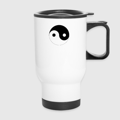 yin and yang - Travel Mug