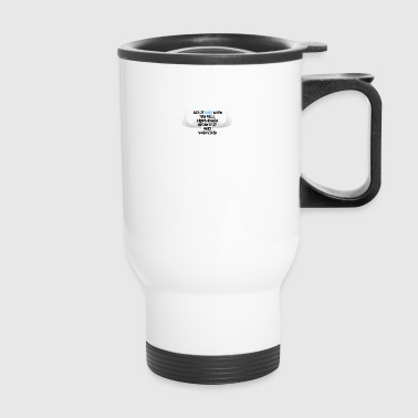 Did it hurt when you fell from heaven - Travel Mug