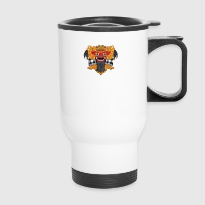 The Barong Mask - Travel Mug