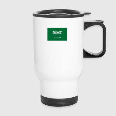 National Flag Of Saudi Arabia - Travel Mug