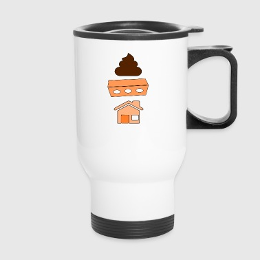 SHIT BRICK HOUSE - Travel Mug