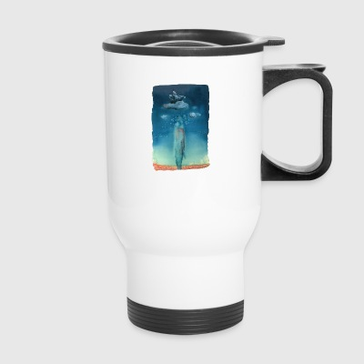Moby Dick Dreams - Travel Mug