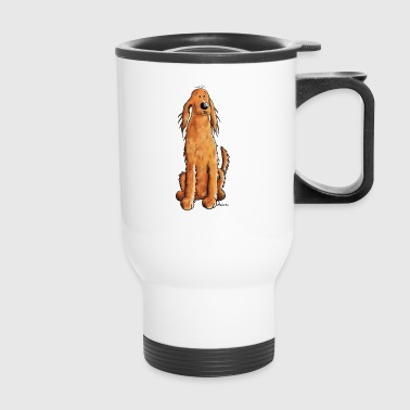 Funny Irish Setter - Travel Mug