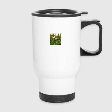 green aquarium - Travel Mug