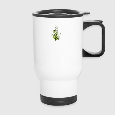 Abstract Flora - Travel Mug