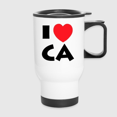 I Love California - Travel Mug