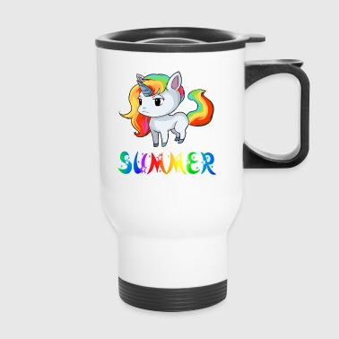 Summer Unicorn - Travel Mug