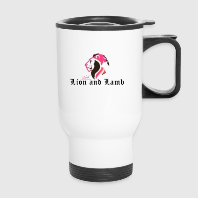 Lion and Lamb - Travel Mug