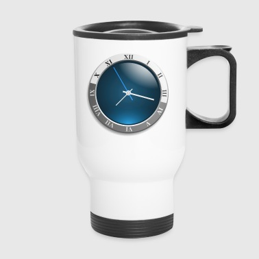 clock - Travel Mug