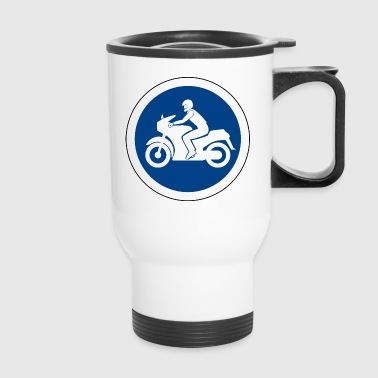 Traffic sign - Travel Mug