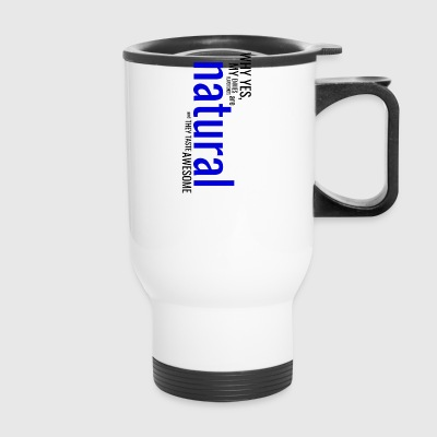 Natural Dark - Travel Mug