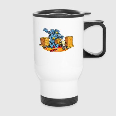 A boy his Jaeger - Travel Mug