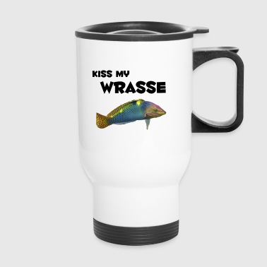 kiss my wrasse - Travel Mug