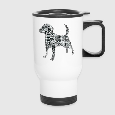 Dog_003 - Travel Mug