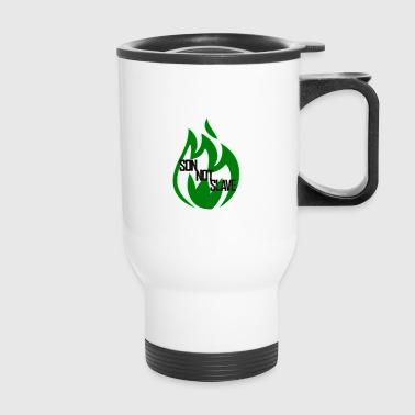 son not slave green - Travel Mug