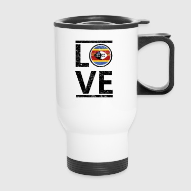 roots love heimat queen herkunft Swasiland - Travel Mug
