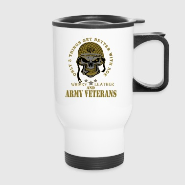 Army Veteran - Travel Mug