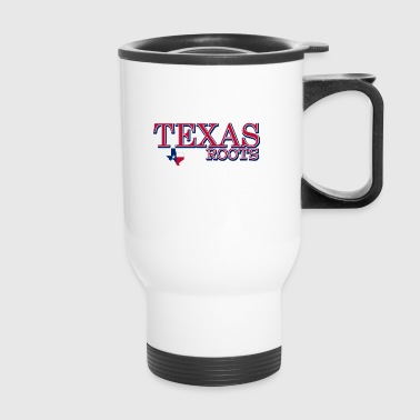 texas roots image - Travel Mug