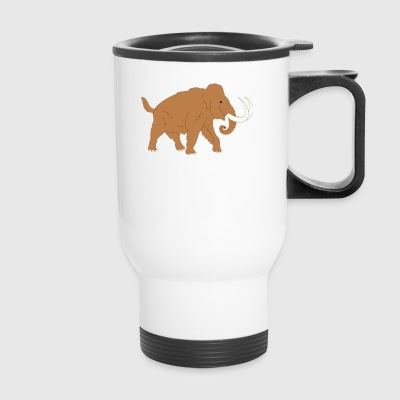 Animal Ancient Mammoth Trunk Fur 45726 - Travel Mug