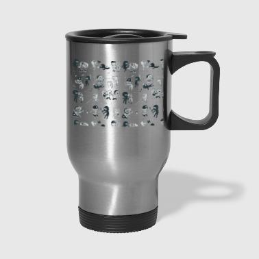 Pop Culture Clash - Travel Mug