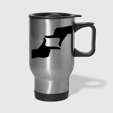 Finger - Fingers - Travel Mug