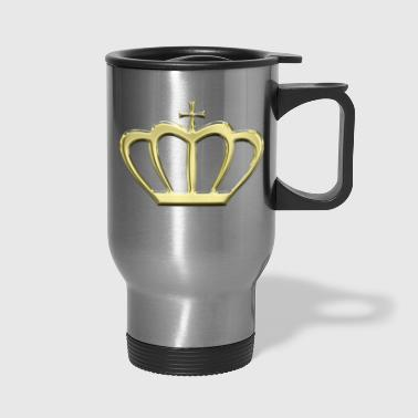 Crown Gold Crown - Travel Mug