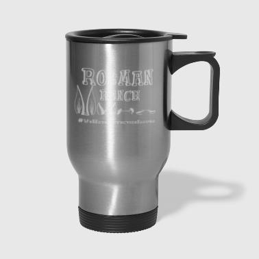 White We have affection issues - Travel Mug