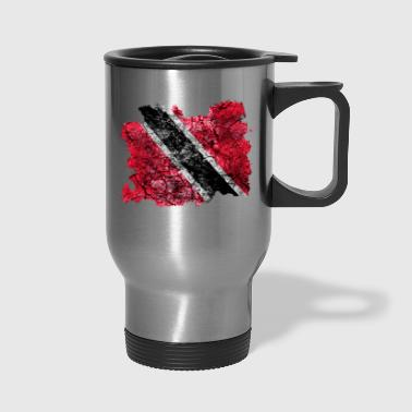 Trinidad and Tobago Vintage Flag - Travel Mug
