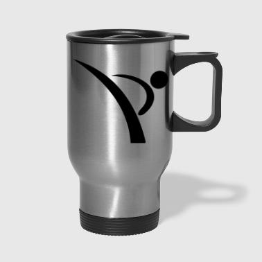 kick dance - Travel Mug