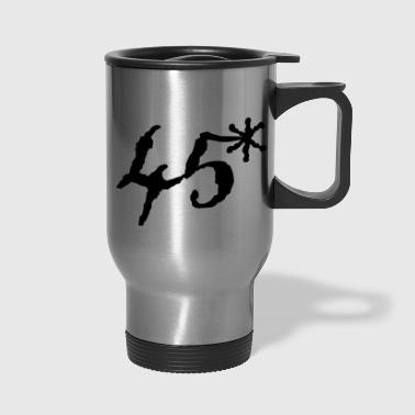 45 asterisk - Travel Mug