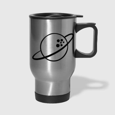 Space Travel Saturn - Space traveller - Travel Mug