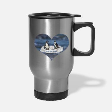 Planetcontest Penguins Save our home! - Travel Mug