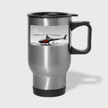 helicopter - Travel Mug