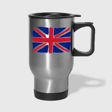 flag of uk - Travel Mug
