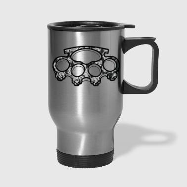 Knuckle Skull Knuckles - Travel Mug