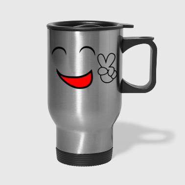 Comics comic face - Travel Mug